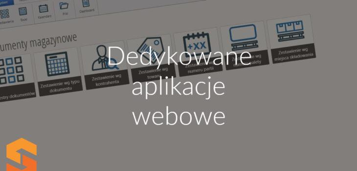Dedykowane aplikacje webowe