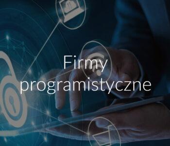 Firmy programistyczne