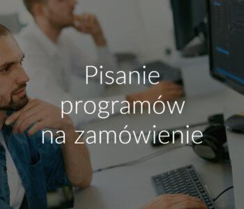 Pisanie programów na zamówienie