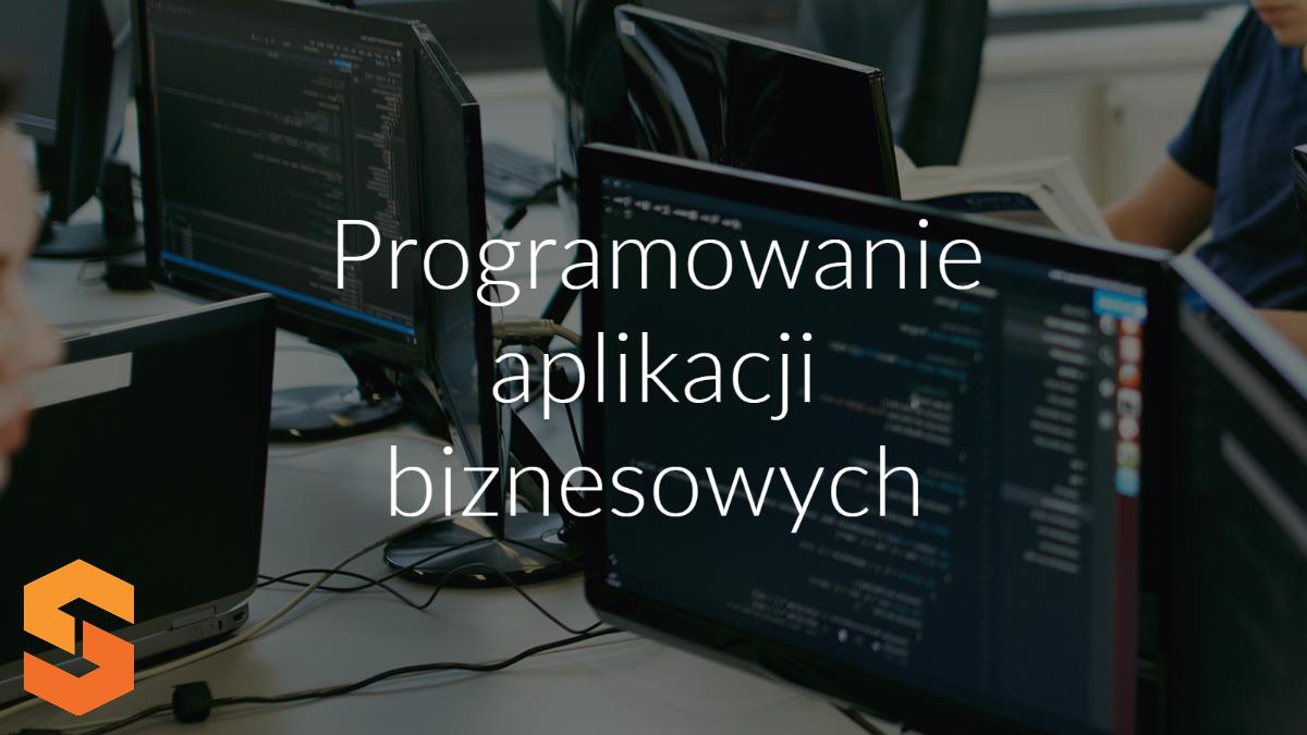 oprogramowanie jako usługa,programowanie aplikacji biznesowych