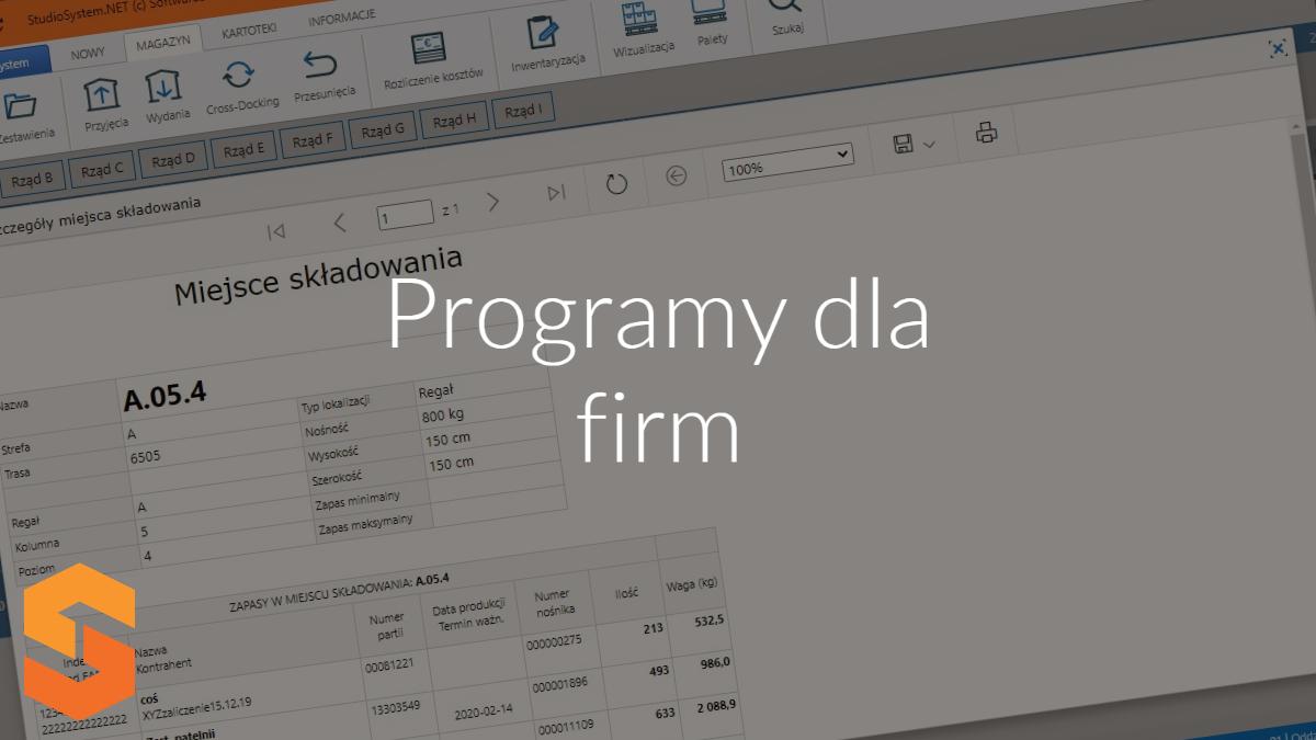 producent programów informatycznych,programy dla firm poznań
