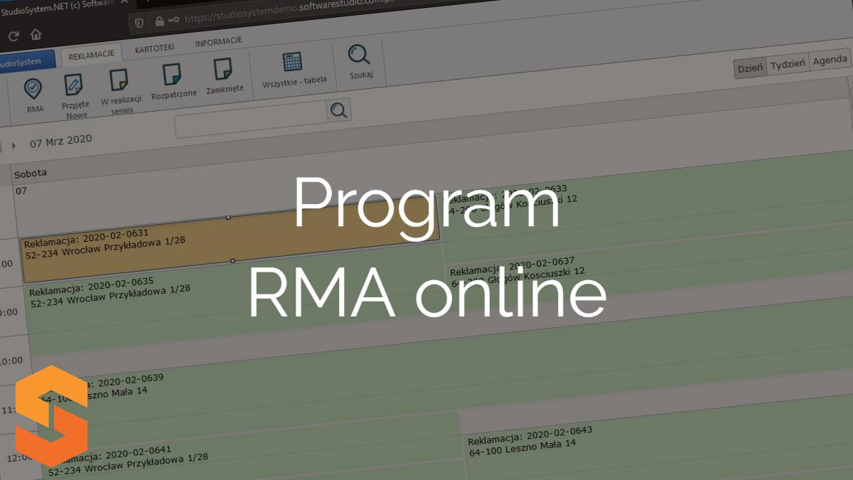 system-rma,program rma online
