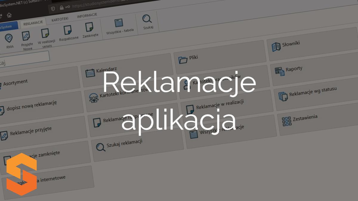 system rma online,reklamacje aplikacja