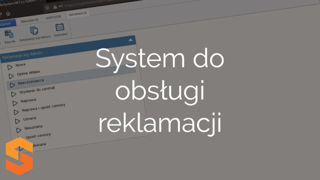 System do obsługi reklamacji