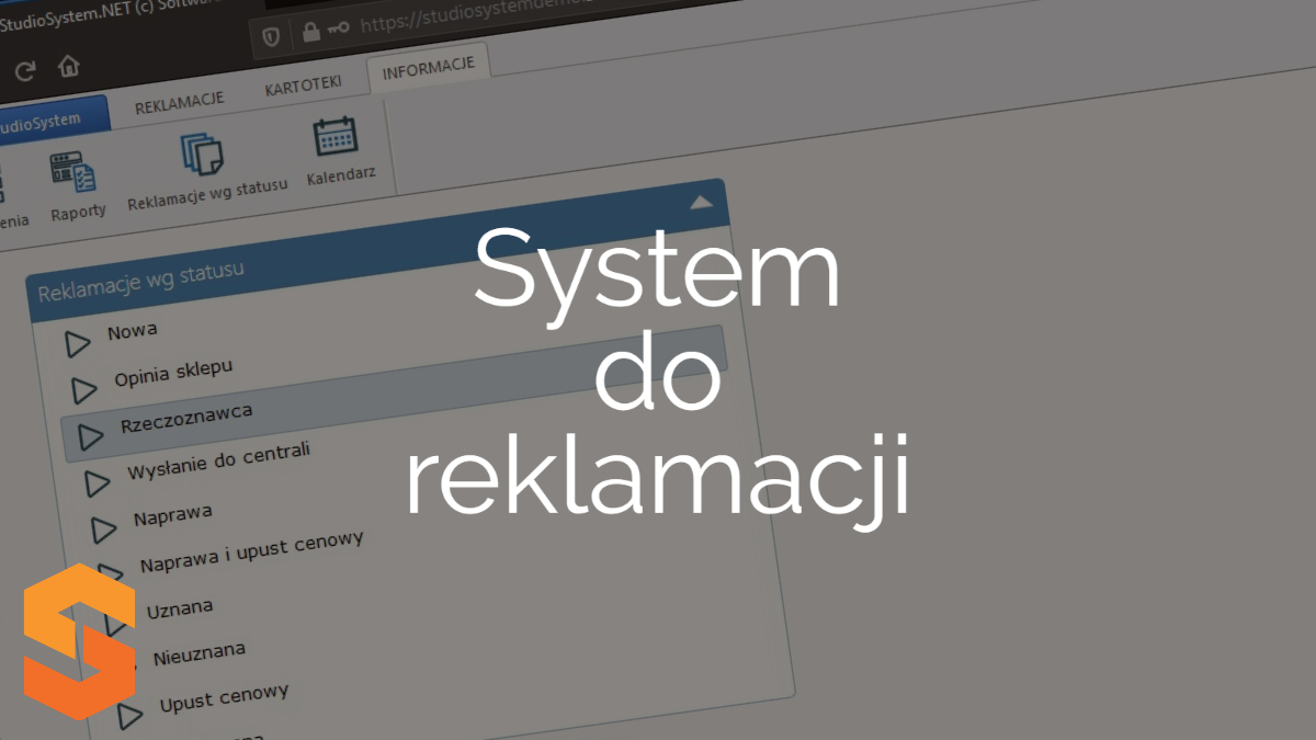 system rma online,system do reklamacji