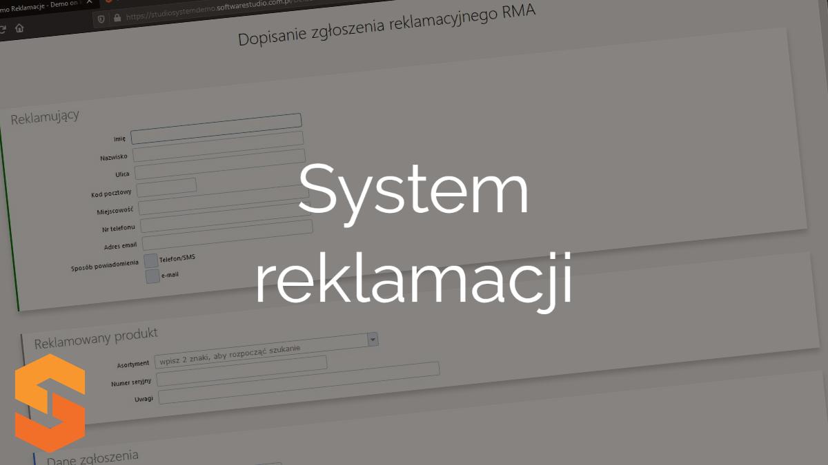 system-rma,system reklamacji